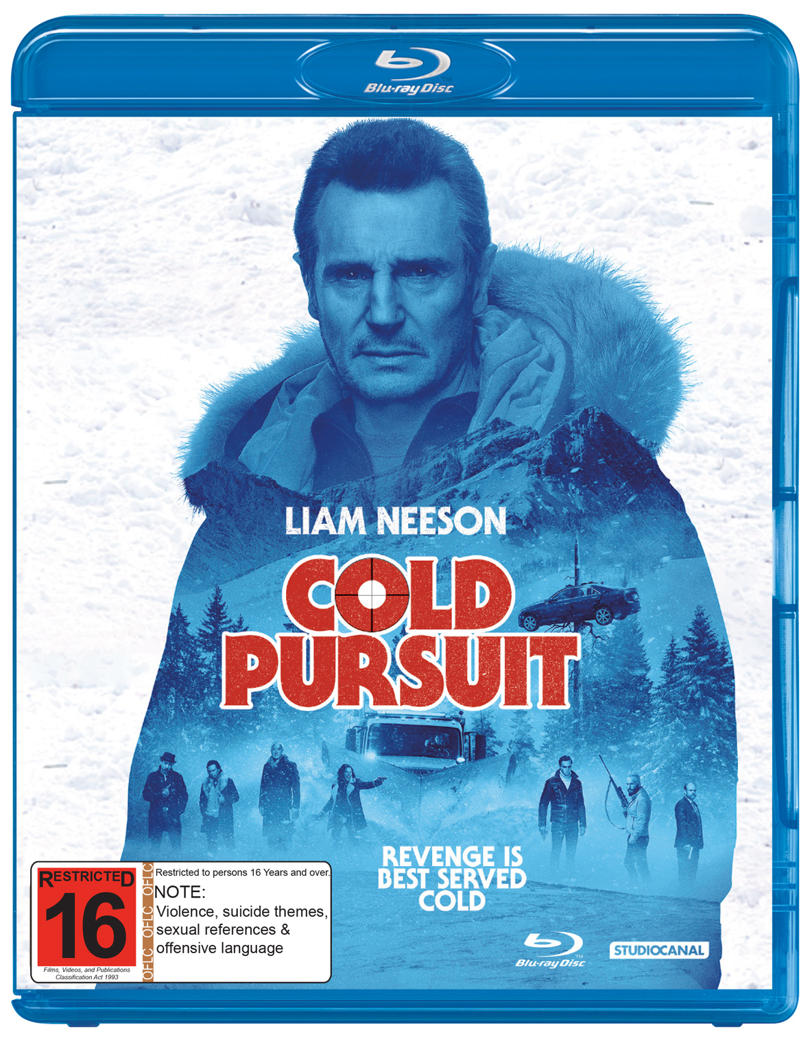 Cold Pursuit on Blu-ray image