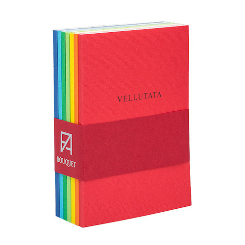 Fabriano: Book Bouquet - Assorted Colours (Pack of 7 - 10x14cm) image
