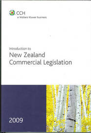 Introduction to New Zealand Commercial Legislation 2009 image