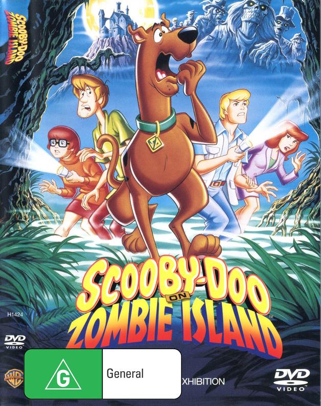 Scooby Doo On Zombie Island on DVD