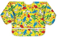 Bumkins: Waterproof Sleeved Bib - Dr Seuss Fish