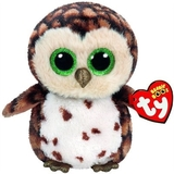 Ty Beanie Boo - Sammy Owl Brown