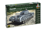 Italeri 1:56 Churchill Model Kit