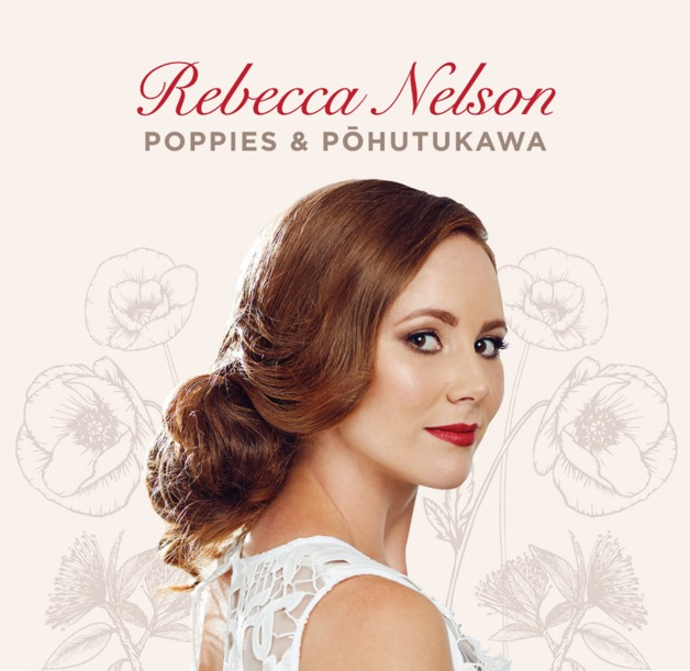Poppies & Pohutakawa by Rebecca Nelson