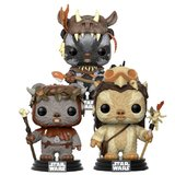 Star Wars: Ewok Collection - Pop! Vinyl 3-Pack