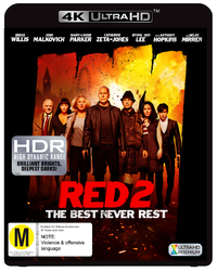 Red 2 on UHD Blu-ray