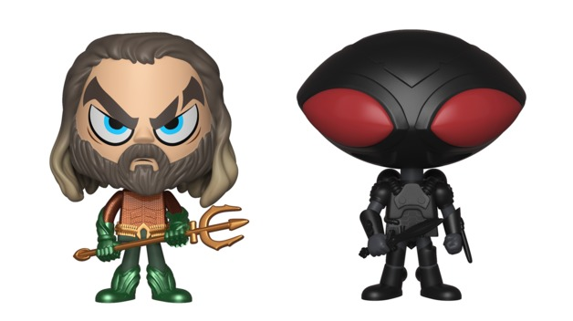 Aquaman + Black Manta - Vynl. Figure 2-Pack