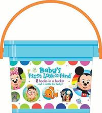 Disney Baby's First Look and Find – My Little Bucket Of Books by P I Kids
