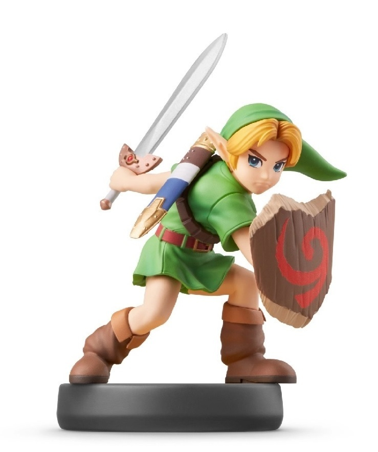 Nintendo Amiibo Young Link - Super Smash Bros Ultimate for Switch image