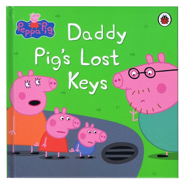 Peppa Pig Daddy Pig S Lost Keys On Sale Now At Mighty Ape Nz