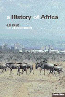A History of Africa by John Fage image