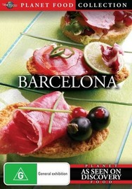 Planet Food: Barcelona on DVD