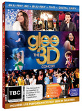 Glee - The 3D Concert DVD
