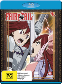 Fairy Tail - Collection 8 on Blu-ray