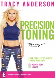Tracy Anderson Precision Toning on DVD