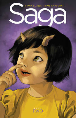 Saga Book Two by Brian K Vaughan