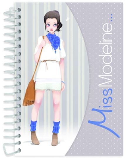 Miss Modeline A6 Notepad and Design Book - Joe