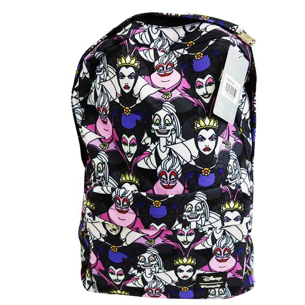Loungefly: Disney Villians AOP Backpack
