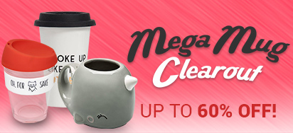 Mega Mug Clearout - Up to 60% off!