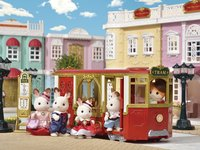 Sylvanian Families - Ride Along Tram