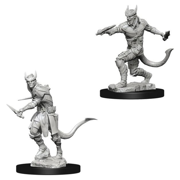 D&D Nolzur's Marvelous: Unpainted Miniatures - Tiefling Male Rogue