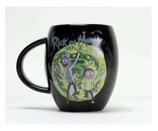 Rick And Morty Oval Mug
