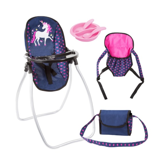 Bayer: Vario Doll Accessory Set - Navy Unicorn image