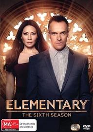 Elementary - The Sixth Season on DVD