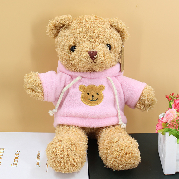 Gorilla: I Love you Teddy Bear - Pink Sweater (30cm)