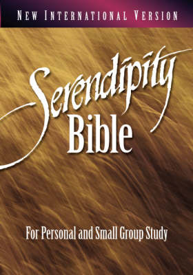 NIV Serendipity Bible: For Personal and Small Group Study image