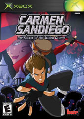 Carmen Sandiego: Secret Of The Stolen Drums for Xbox