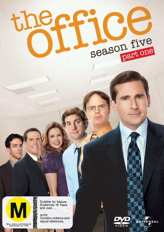 The Office (US) Season 5 Part 1 on DVD