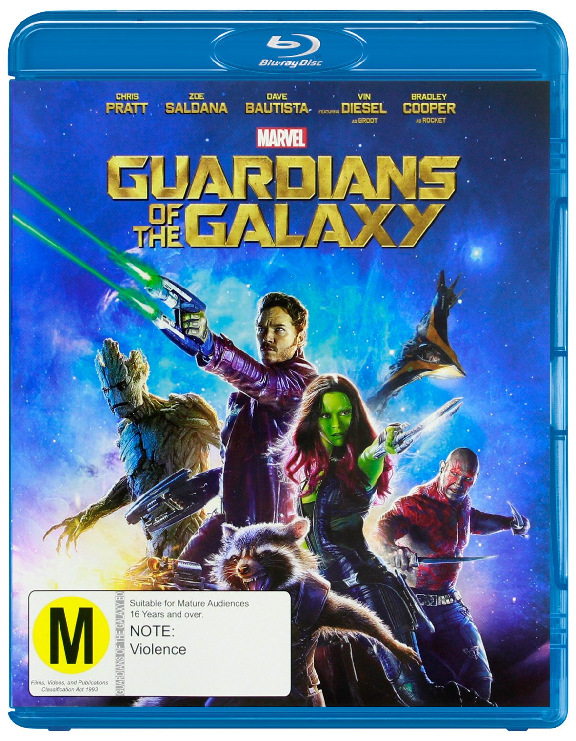 Guardians of the Galaxy on Blu-ray image