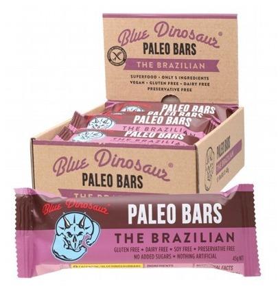 Blue Dinosaur Paleo Bars - The Brazilian (12 Bars)