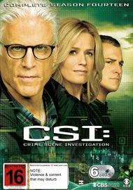 C.S.I. Season 14 on DVD