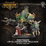 Warmachine: Cryx - Nightmare Warcaster Character Helljack