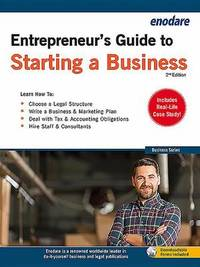 Entrepreneur's Guide to Starting a Business by Enodare