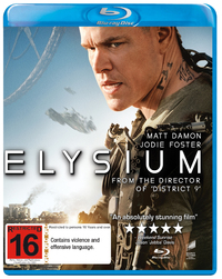 Elysium on Blu-ray