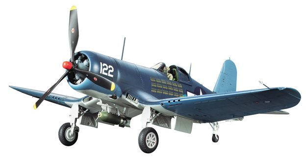 Tamiya 1/32: Vought F4U-1A Corsair Bubble Canopy - Model Kit