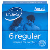 Ansell Lifestyles Regular (6pk)