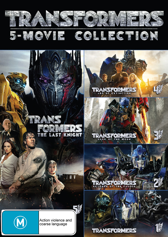 Transformers - 1-5 Boxset on DVD