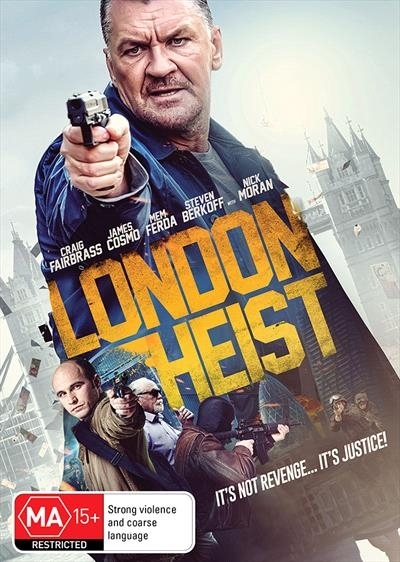 London Heist on DVD image