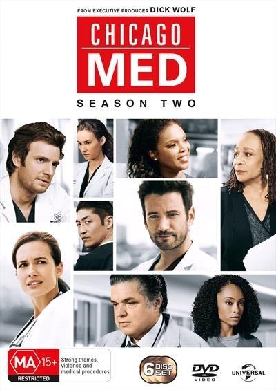 Chicago Med - Season 2 on DVD