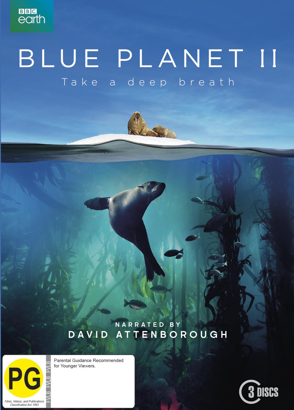 Blue Planet II on DVD image