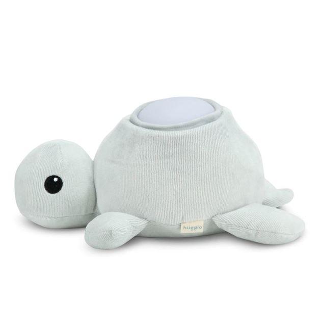 Hugglo: Night Light - Grey Turtle