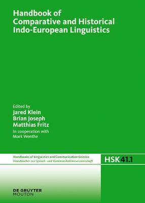 Handbook of Comparative and Historical Indo-European Linguistics image