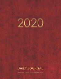 2020 Daily Journal January 2020 - December 2020 by Greenwood Creations