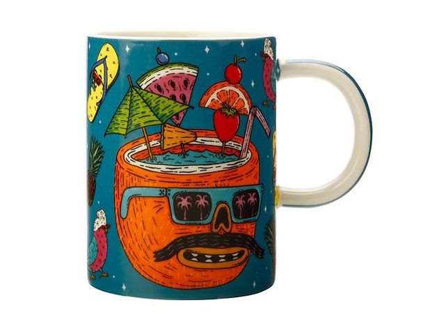 Maxwell & Williams: Mulga the Artist Mug Coconut