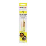 Snazaroo Face Paint Brushes - Set of 3