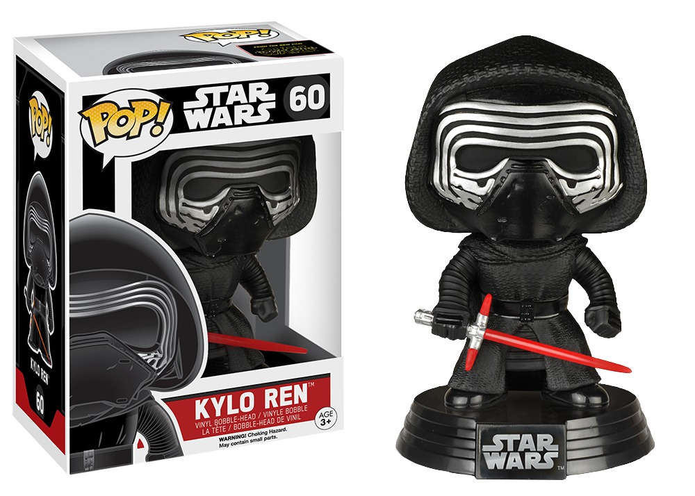 Star Wars: Kylo Ren Pop! Vinyl Figure image